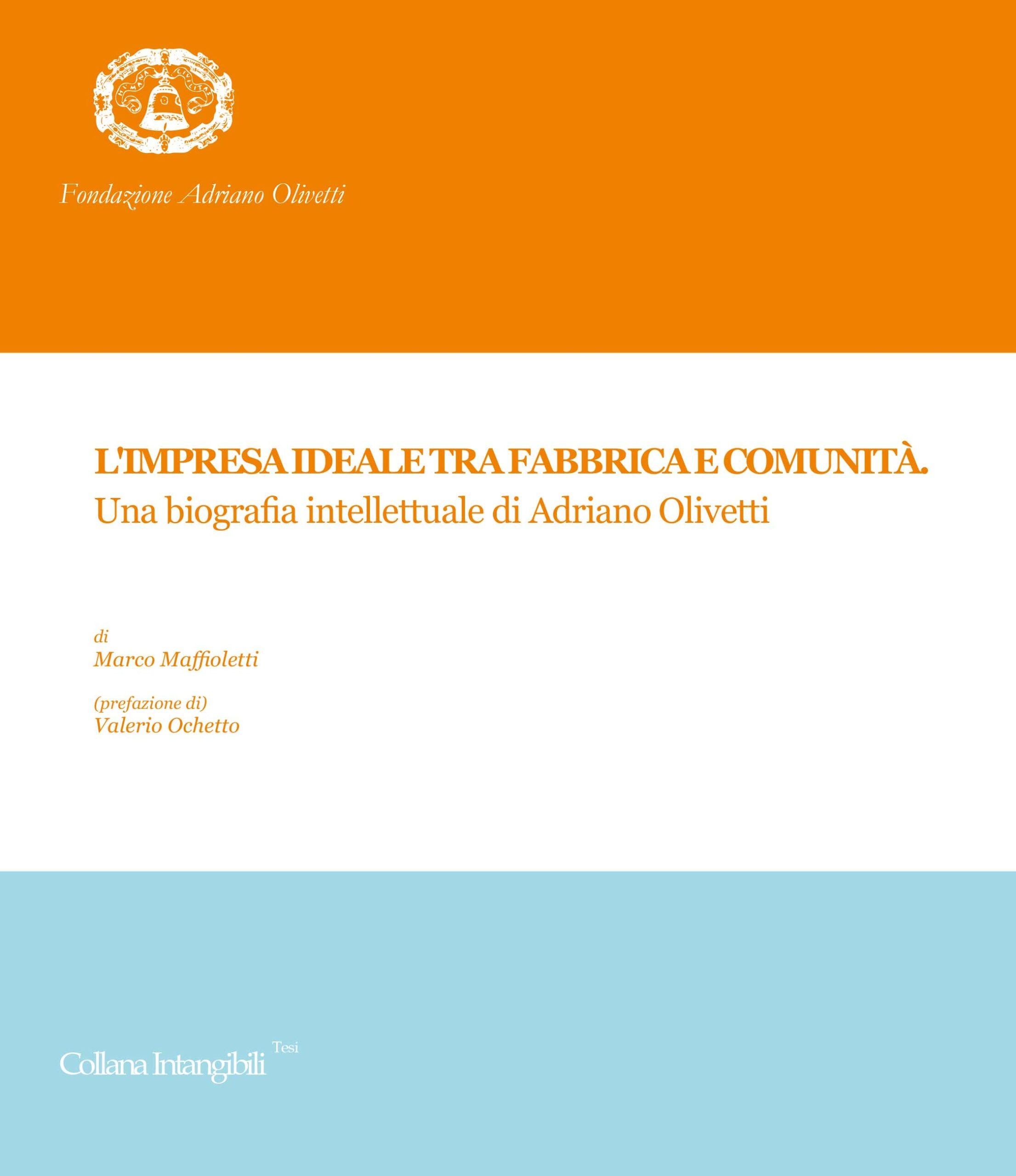 Serie Tesi Collana Intangibili impresa Maffioletti