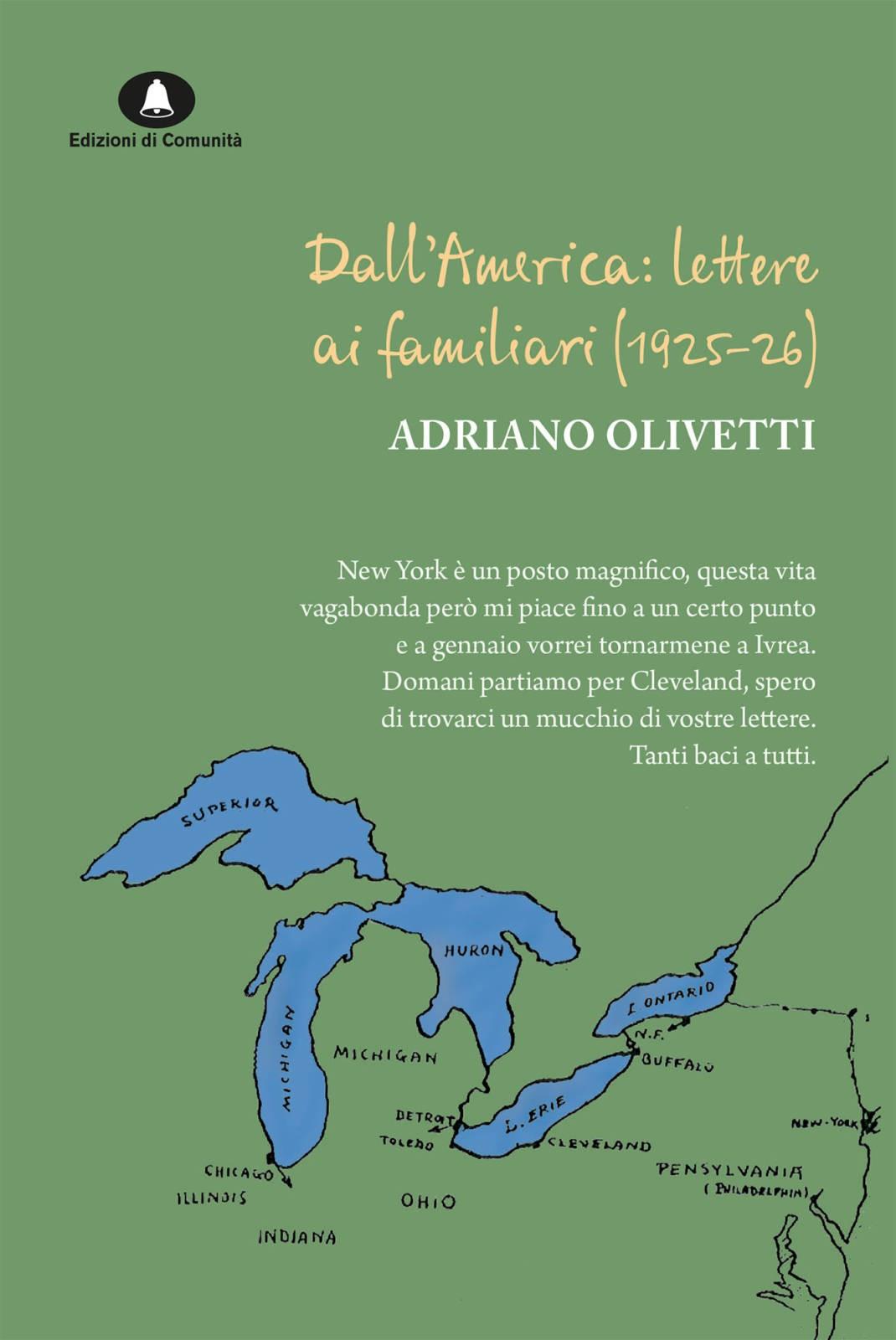 Lettere di Adriano Olivetti dall'America