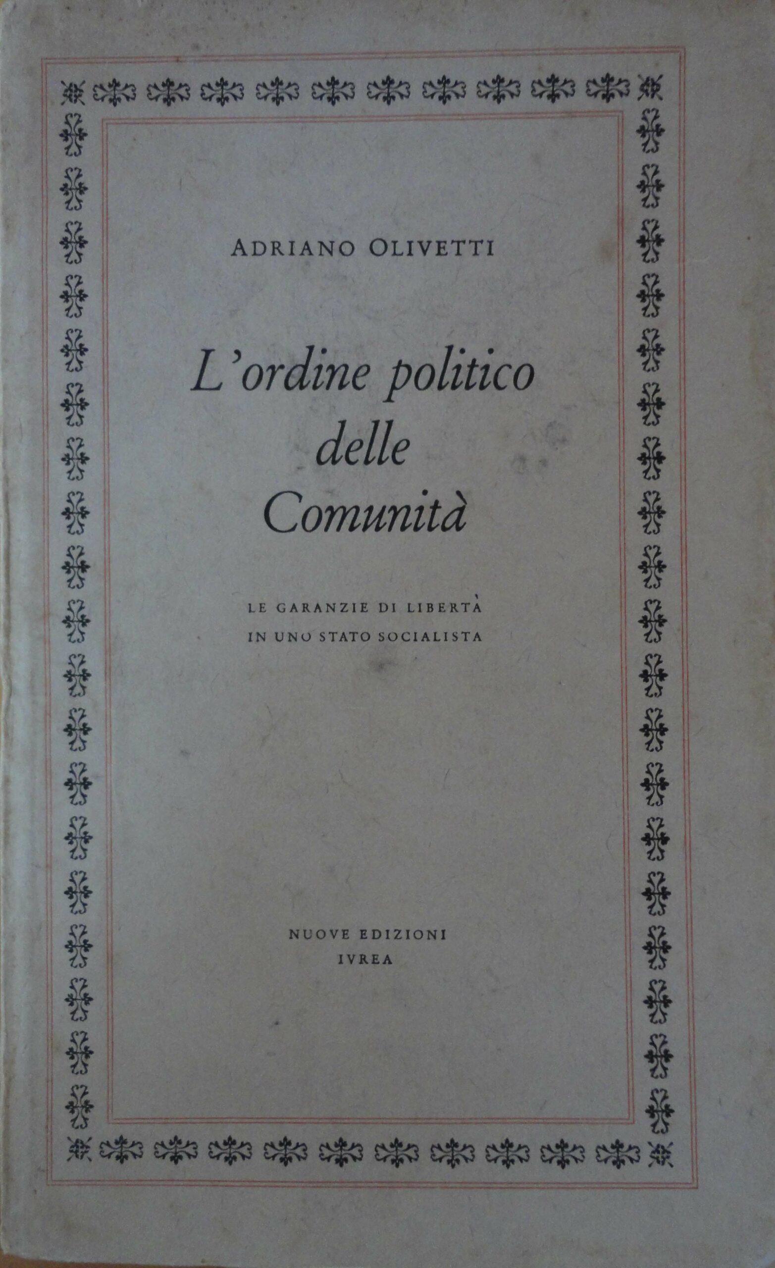 Copertina Ordine Politico NEI