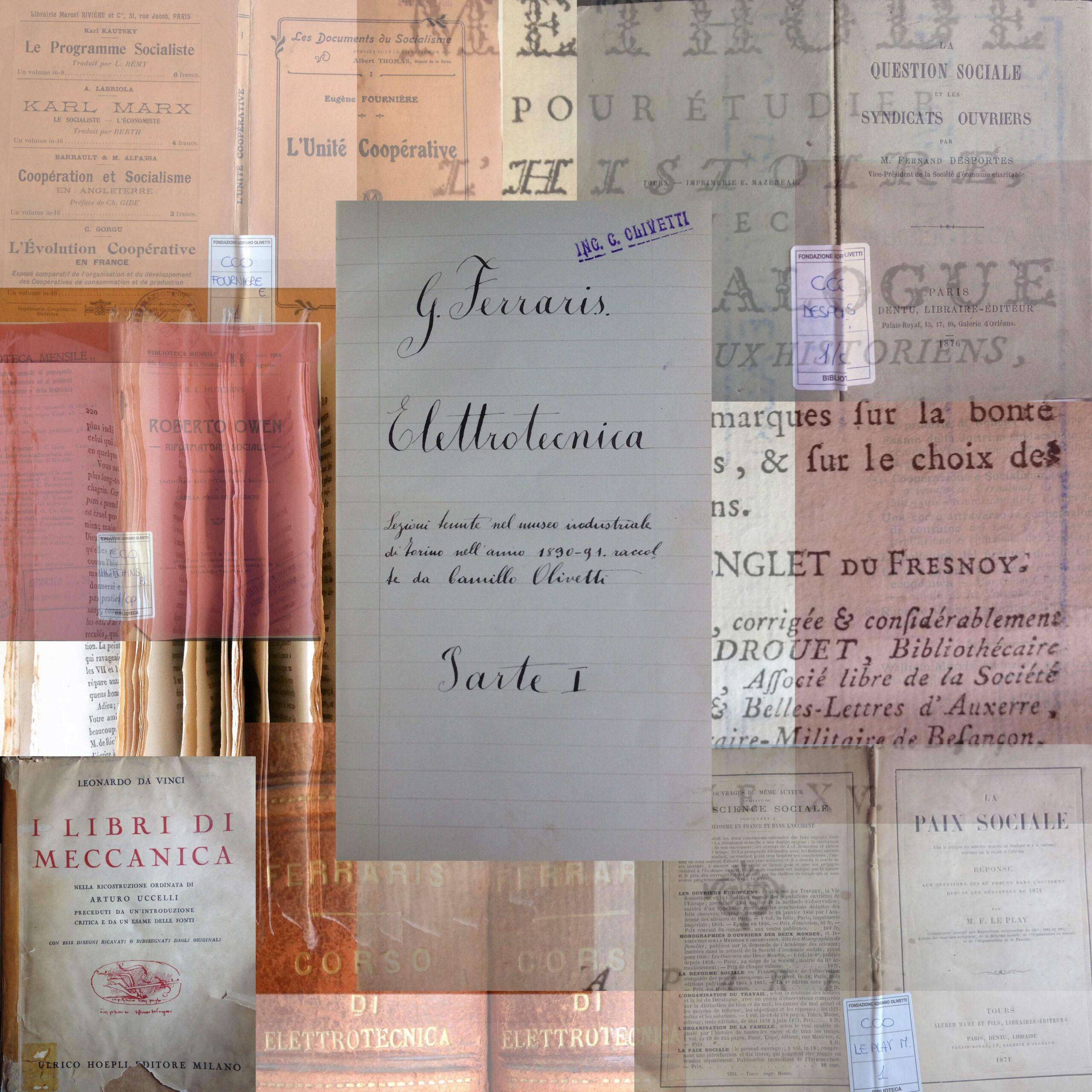 archivio biblioteca roma