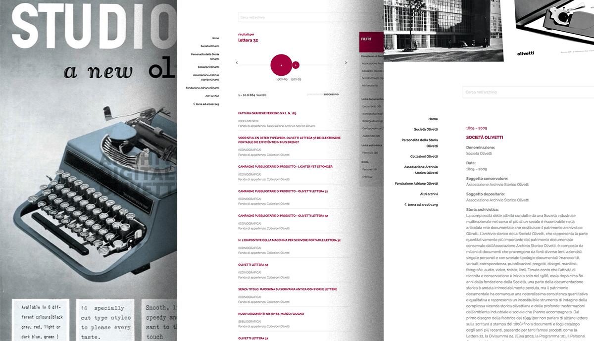 Archivi Digitali Olivetti