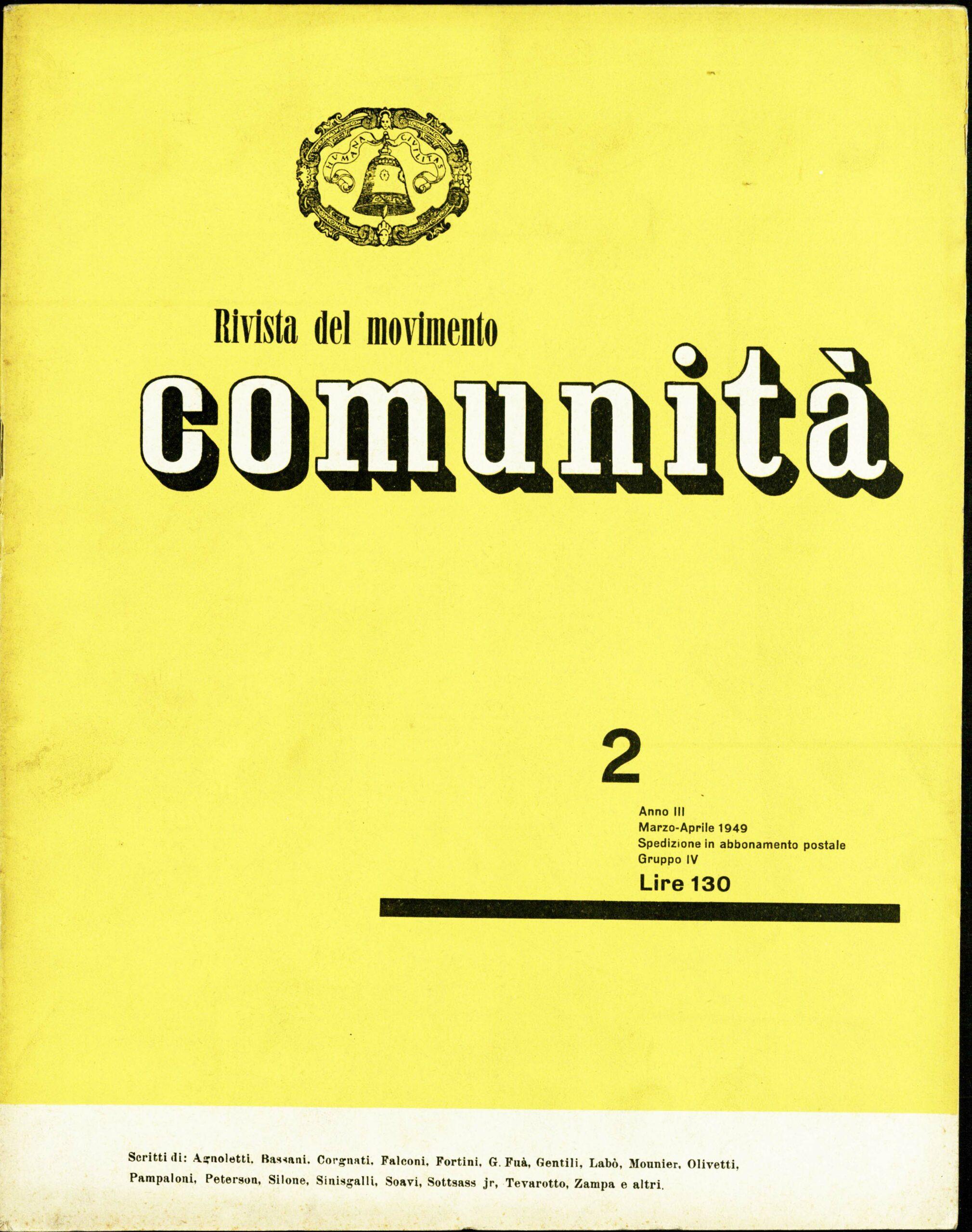 Rivista Comunità