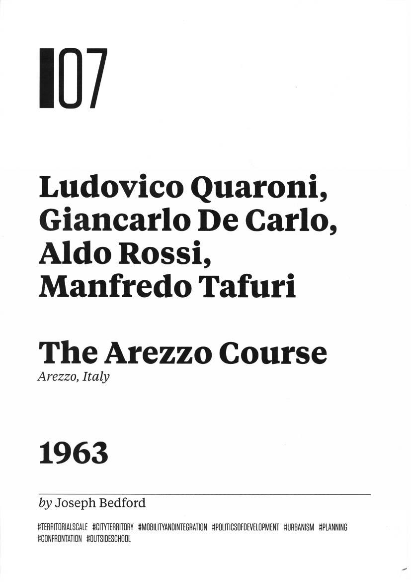 Radical Pedagogies Quaroni Arezzo