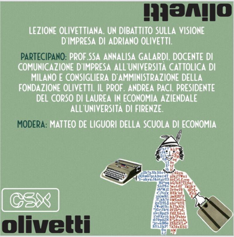 Lezione Olivettiana Unifi
