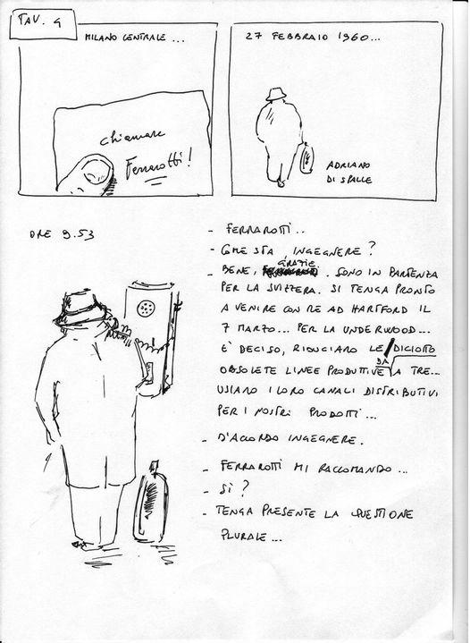 Adriano Olivetti fumetto