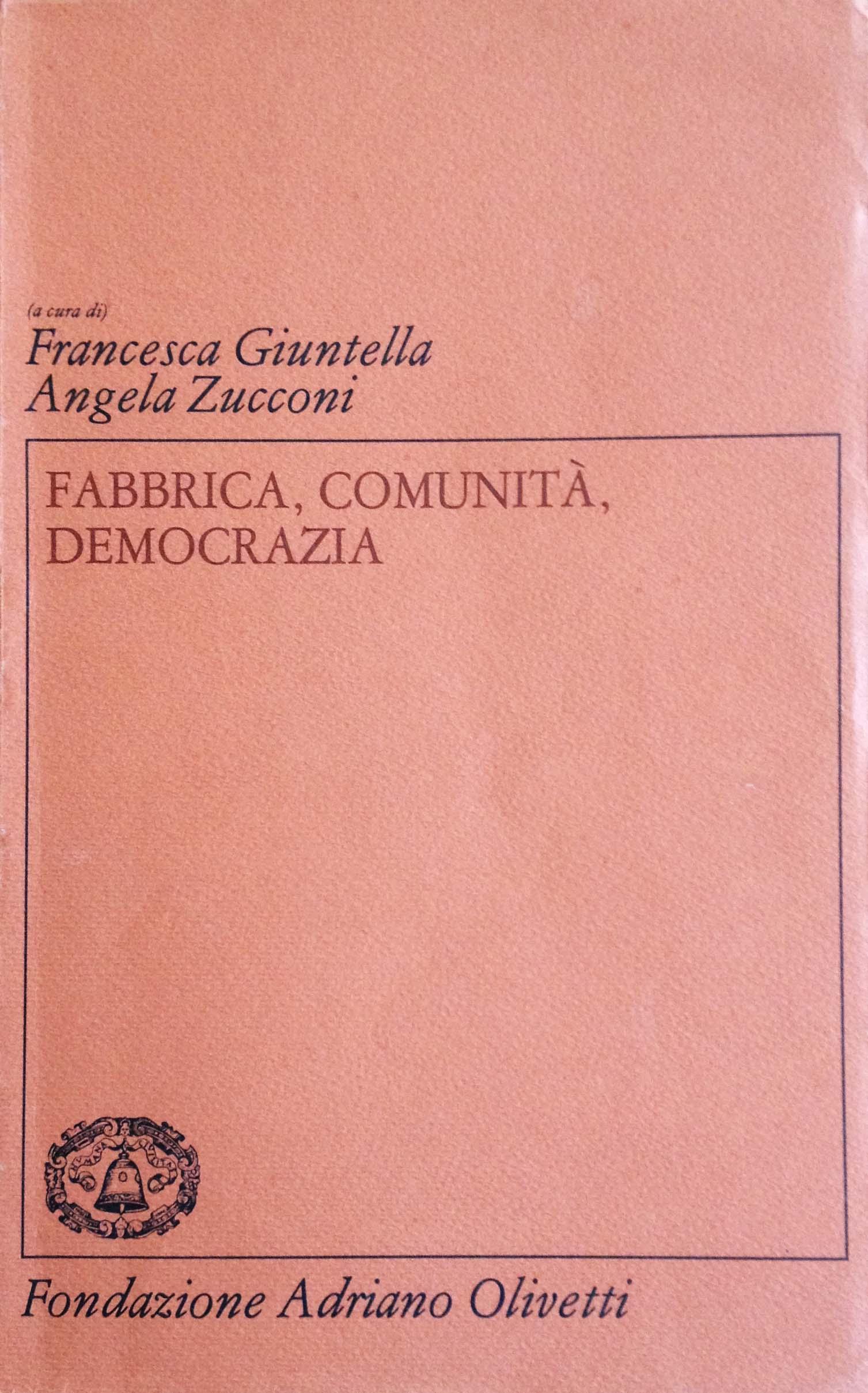 I Quaderni della Fondazione Adriano Olivetti